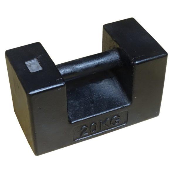 Wzorzec masy żeliwny M1-20kg