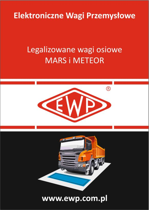 Wagi MARS i METEOR PLT 161 katalog