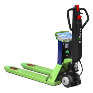 Elektrycznie wspomagany wózek paletowy z wagą