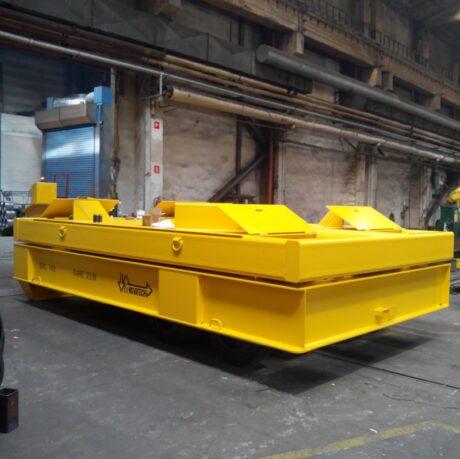 Naczepa ciężka z wagą 140 ton
